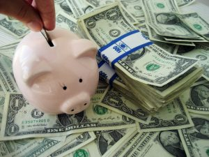 saving for life insurance or a Medicare Supplement